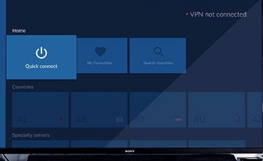 NordVPN  для Android TV в Китае