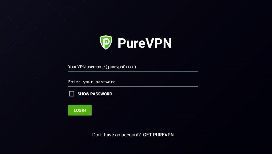 Pure VPN  для Android TV в Китае